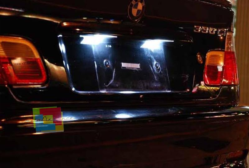 COPPIA LUCI TARGA VW BEETLE 2011+ T10 BIANCO 20 LED SUPER QUALITA